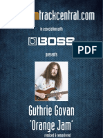 Guthrie Govan - Orange Jam