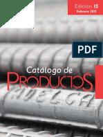 Especificaciones Varillas y Productos (ADELCA)