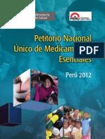 Petitorio Nacional de Medicamentos Esenciales_2012