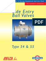 Proposed Valve for Hot Tap