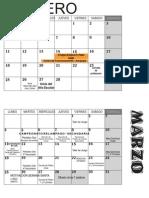 Calendario 2013 CSFA