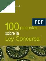100 Preguntas sobre la ley concursal
