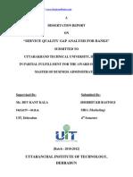 Fyp MBA Gap Model