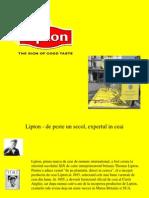 Lipton Prezentare