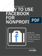 Use Facebook for Nonprofits