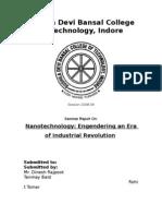 Nanotechnology (Seminar)