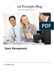 Coaching Sales People to Achieve More