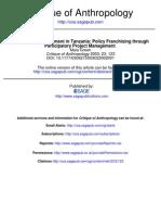 Globalizing Development in Tanzania