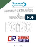 PCMSO CERÂMICA REUNIDAS 2012 2013