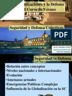 Seguridad y Defensa Colectivas