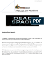 Guia Trucoteca Dead Space 2 Playstation 3