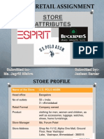 Fashion Retail Merchandising