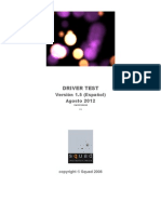 DriverTest Manual Es