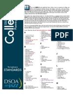 DSOA Jazz - Sophomore Standards List