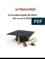 [eBook] Testul Maturitatii