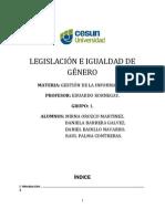 02DRMA - Equipo 1 - Legislación e igualdad de genero