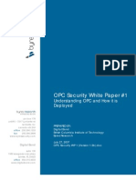OPC Security WP1