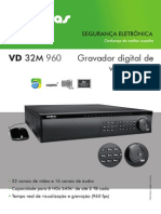Datasheet Vd 32m 960 Gravador Digital de Video