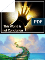 This world is not conclusion