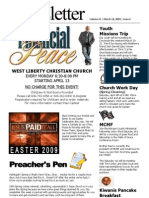 Church Newsletter March 2009 (02)