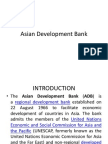 Asian Developement Bank