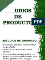 Estudio de Producto