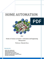 Final year projects on home automation