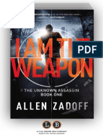 I AM THE WEAPON (The Unknown Assassin #1) by Allen Zadoff (Preview)