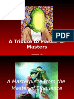 A Tribute to Master of Masters