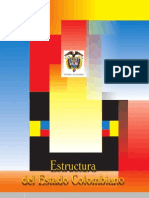 ESTRUCTURA ORGÁNICA DEL ESTADO COLOMBIANO