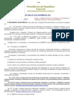 Lei 5966 - Sistema Nacional de Metrologia