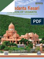 The Vedanta Kesari January 2013