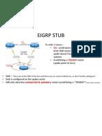 Eigrp Stub explained