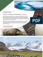 Adventure Canada 2014 Antarctica