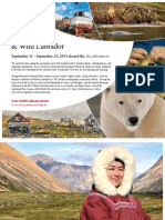 Adventure Canada 2014 Greenland and Wild Labrador