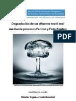 Mecanismos Fenton y Fotofenton