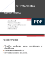 Trabalho de Tratamentos Térmicos - Recobrimento (1) (1)