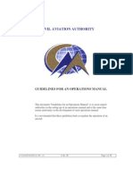 Aerodrome Operations Manual - Guidelines