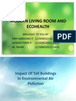 Modern Living Room and Ecohealth (a)