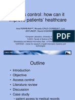 Acess Control How Can It Improve Patients' Healthcare