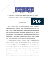 An Analysis of Turkish-American Relations From 1945 to 2004