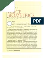 Voice Biometrics p66 Markowitz