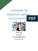 PROGRAMA DE GINÁSTICA LABORAL NA SUA EMPRESA