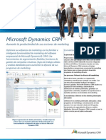 Hoja de Producto- MS Dynamics CRM Marketing