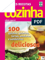 Claudia Cozinha - Grandes Receitas - Lanches Bolos Doces e Salgados