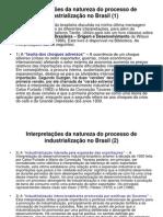 Resumo Industrializacao No Brasil