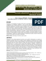 ajuste oclusal em ortodontia uma revisão de literatura