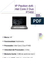 Portátil HP Pavilion dv6-1090es Intel Core 2 Duo