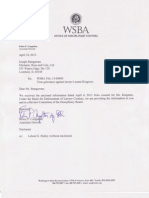 WSBA Complaint against Ms. Lauren Kingston - Attorney for McCormack IP Law