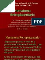 Hematoma Retroplacentario Final